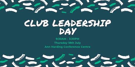UC Club Leadership Day tickets