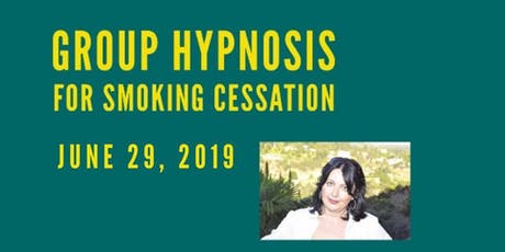 STOP SMOKING WITH HYPNOSIS  tickets