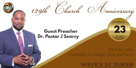 Carey Hill Baptist Church 129th Church Anniversary tickets