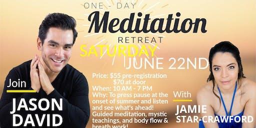 One Day Meditation Retreat w/Jason David