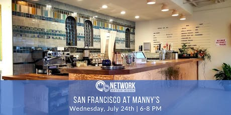 Network After Work San Francisco at Manny's tickets
