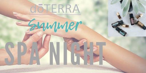 Summer Spa Night Workshop