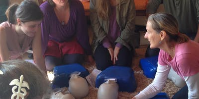 Encino: A  RED CROSS *****-Pediatric CPR-AED and First Aid Class