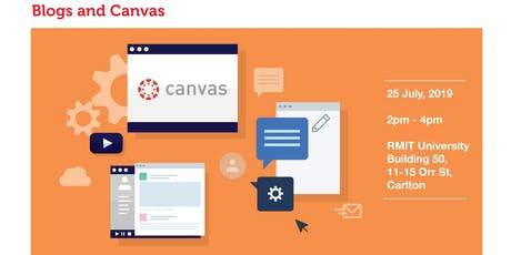 Blogs and Canvas tickets