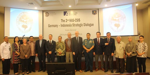 The 3rd KAS-CSIS Germany-Indonesia Strategic Dialogue