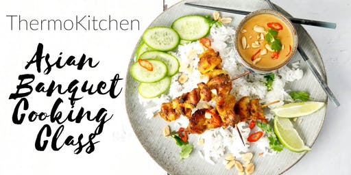 ThermoKitchen Asian Banquet Cooking Class - Coffs Harbour