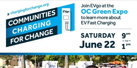 Communities Charging For Change @ the OC Green Expo w/Green For All & EVgo tickets