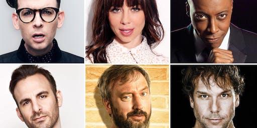 Dane Cook, Natasha Leggero, Arsenio Hall, Tom Green, Moshe Kasher