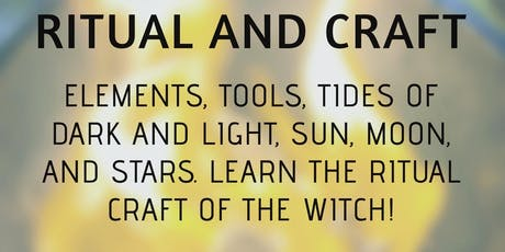 Witchcraft 2 - Book Study of Ritual and Magick tickets