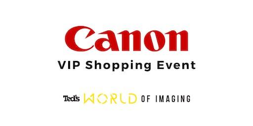 Canon - VIP Shopping Event | Sydney