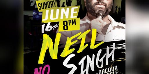 The Hood Bar & Pizza Comedy Night: Neil Singh - June 16th 8pm