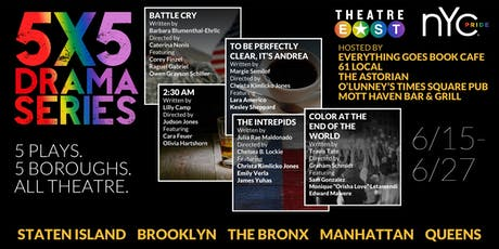 2018/2019 5X5 Drama Series: Mott Haven Bar & Grill, The Bronx tickets