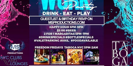 Free Friday Party at Taboga tickets