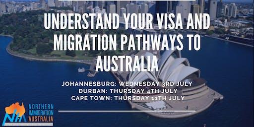 Understand your Visa and Migration pathways to Australia (Durban)
