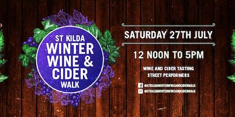 StKilda Winter Wine & Cider Walk tickets