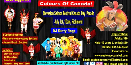 Colours Of Canada - Canada Day Parade tickets