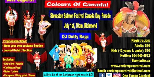 Colours Of Canada -  Steveston Salmon Festival Canada Day Parade