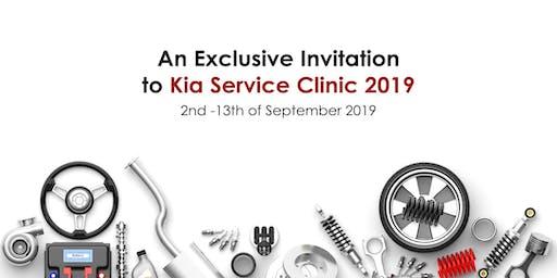 Kia Service Clinic 2019