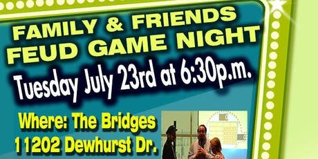 Family and Friends Feud Game Night tickets