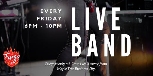 Weekly Live Band Performance