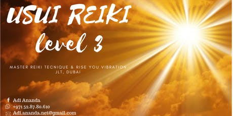USUI REIKI LEVEL 3: Morning Certified Training Course, Dubai tickets