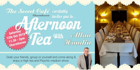 High Tea with Allan Hamlin - Psychic Medium Charmhaven tickets