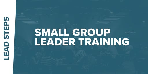 Small Group Leader Training