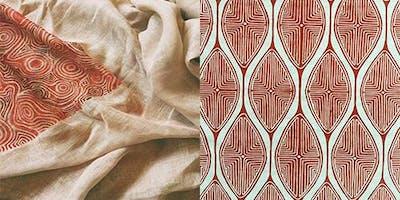 Textile Printing Workshop (ages 12 - 17)
