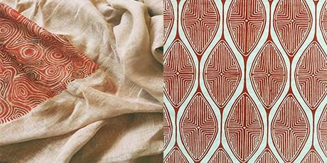 Textile Printing Workshop (ages 12 - 17) tickets