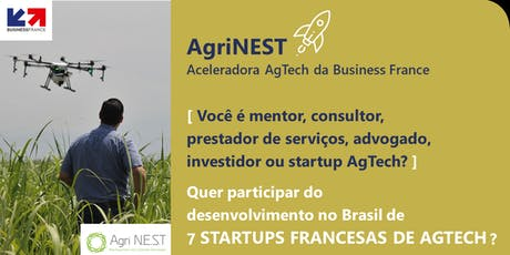 Encontros de negócios AgriNEST Brasil ingressos