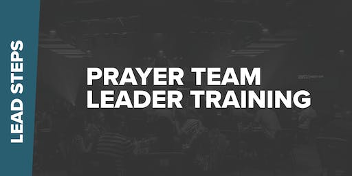 Prayer Team Leader Training