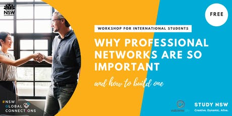 Why professional networks are so important and how to build one tickets