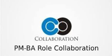 PM-BA Role Collaboration 3 Days Training in Canberra tickets