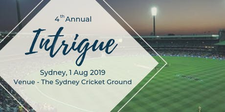 Intrigue Summit, Sydney Cricket Ground, 1 Aug 2019 tickets