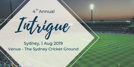 Intrigue Summit, Sydney Cricket Ground, 1 Aug 2019