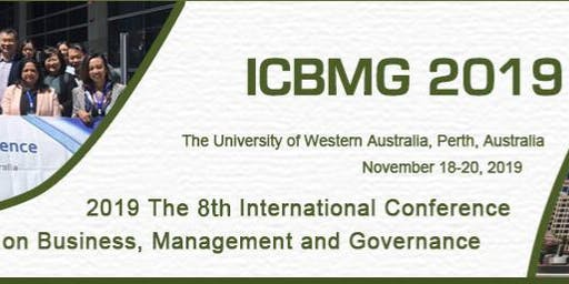 2019 8th International Conference on Business, Management and Governance -ICBMG