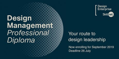 Information Session - Design Management Professional Diploma tickets