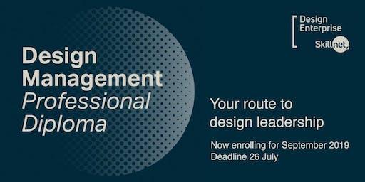 Information Session - Design Management Professional Diploma