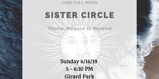 Sister Circle - Full Moon in Sagittarius