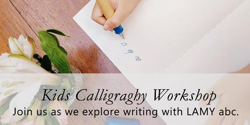 Journaling Festival 2019: Workshop - Kids Calligraphy by the Letter J Supply
