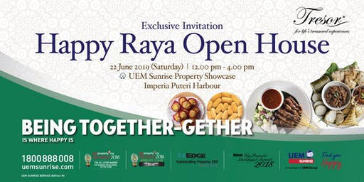 Tresor Happy Raya Open House