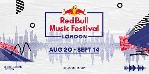 Red Bull Music Festival object blue: Figure Beside Me