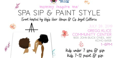 Mommy Inspire Me : Spa Sip Paint Edition tickets