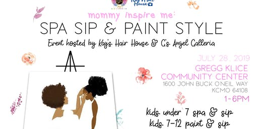Mommy Inspire Me : Spa Sip Paint Edition