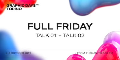 FULL FRIDAY Talks | Graphic Days Torino