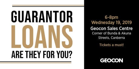 Guarantor Loans - For Both Generations tickets