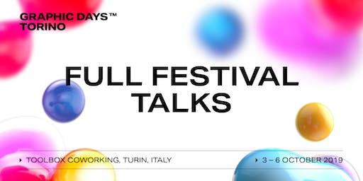 FULL FESTIVAL Talks | Graphic Days Torino