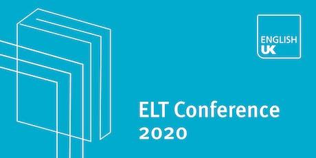 English UK ELT Conference 2020 - Sponsorship & exhibition tickets