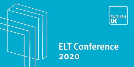 English UK ELT Conference 2020 - Sponsorship & exhibition