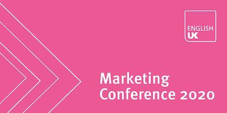 English UK Marketing Conference 2020 - General delegates tickets